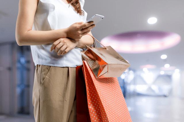 外国人の買い物