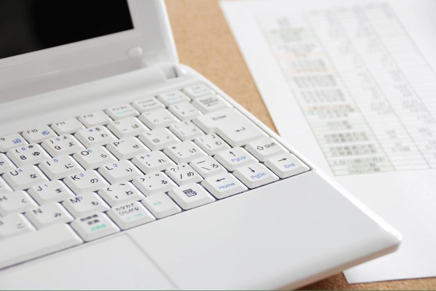リストとパソコン